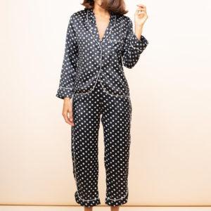 Enya PJ Set in Black Dotty (COPY)-Enya Long Leg PJ Set ENYA-BKDOT