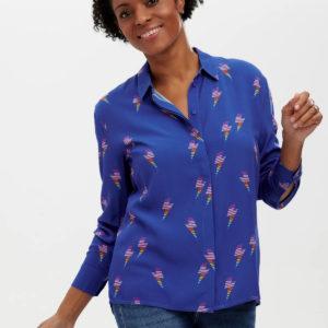 Joy Shirt - Blue, Rainbow Lightning-T0435_JOYSHIRT_2_1800x1800