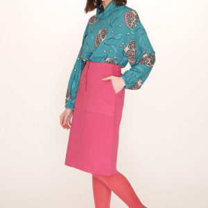 COTTON MIDI SKIRT-cotton-midi-skirt-red