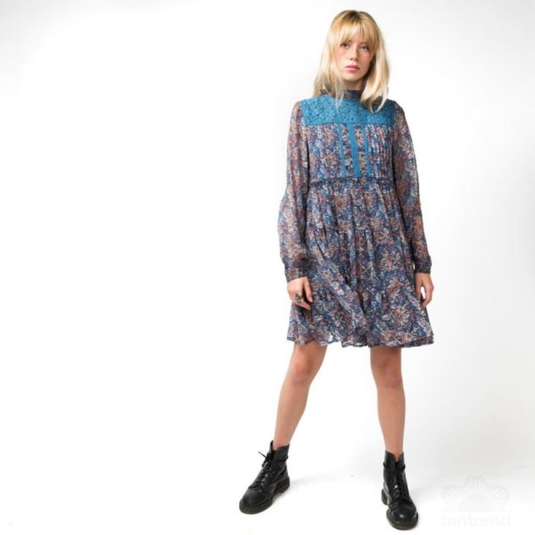 Dress-dress--2-pc--1-col-dress blue