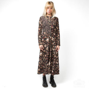 Dress-dress--2-pc--1-col-dress brown