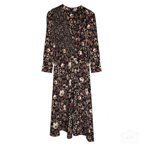 dress--2-pc--1-col-dress brown2
