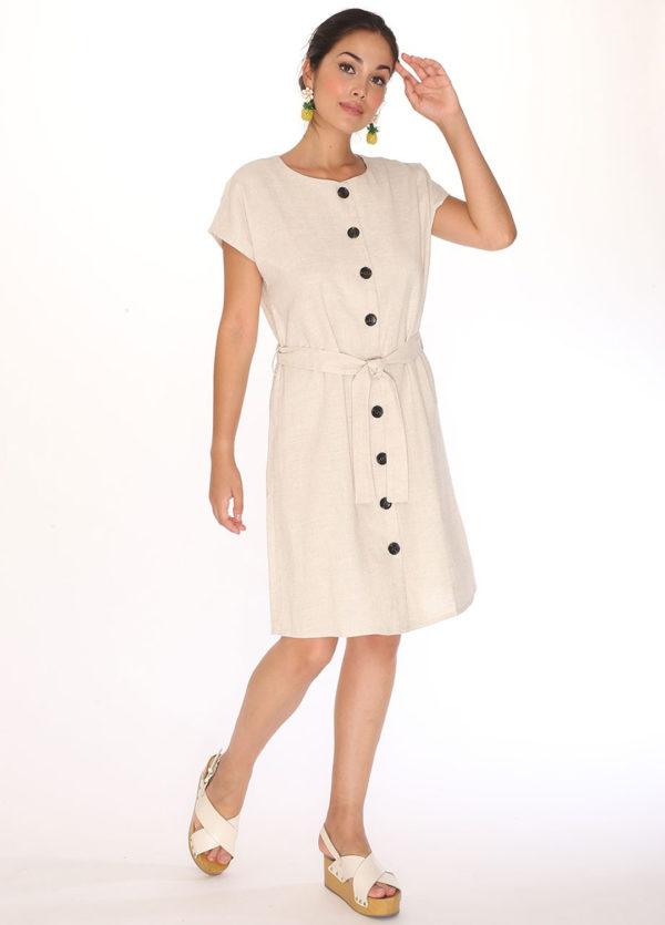 linen-round-neck-dress-cream