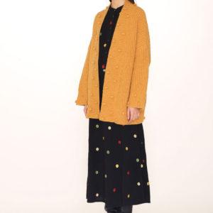 PONPON CARDIGAN-pompom-cardigan-mustard